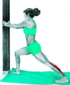 Growing pain prevention stretch