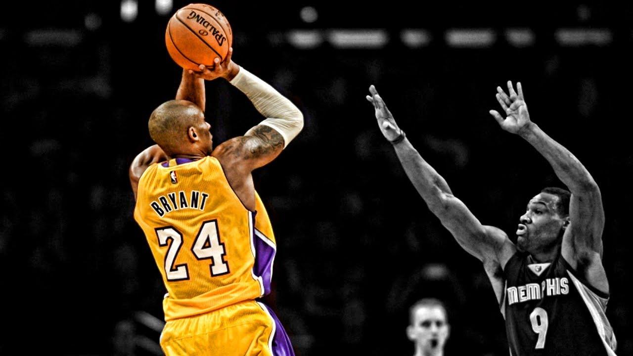 Kobe shoulder pain basketball