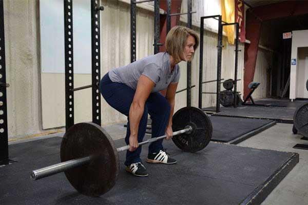 Core stabilisation exercise weight