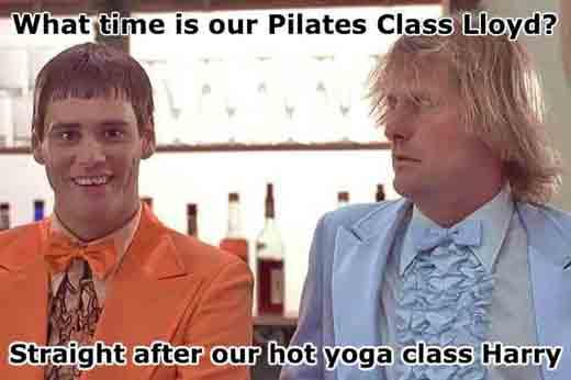 Core yoga fitness