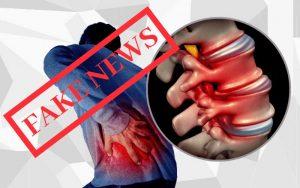 Lower back pain myth